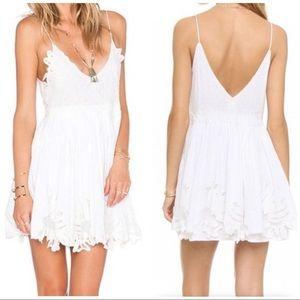 Tularosa Dixie White Mini Dress, XS